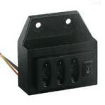 DXN8D серия крытый блок индикатора напряжения---размер отверстия 58*31.5MM