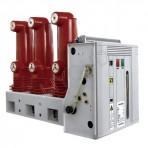 VS1/C一12 серия крытый высоковольтный вакуумный выключатель с  механизмом управления боковый