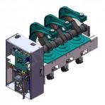Внутренний высоковольтный вакуумный выключатель переменного тока серии ВГК-II-12