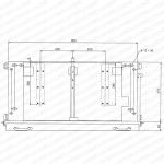 Схема установки Шина заземления (тип 1000)