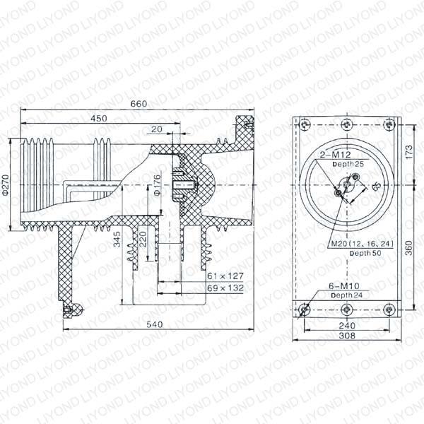 ABB Связаться коробка для высокого напряжения режиме усиление LY112