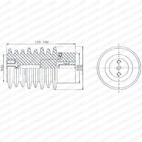 Коричневый датчик для автоматического выключателя LYC120 12KV