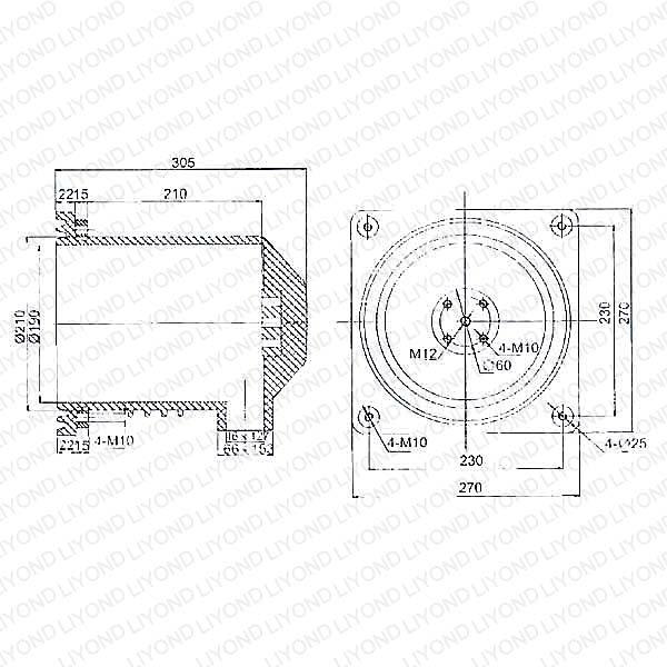 Китай Связаться Коробка с эпоксидной смолой Для выключателя LY106