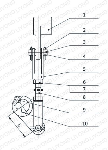 Connecting rod assembly 5XS.233.030.1-3