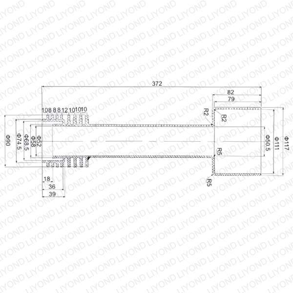 Связаться тяга Втулка с эпоксидной смолой Для выключателя LYC157