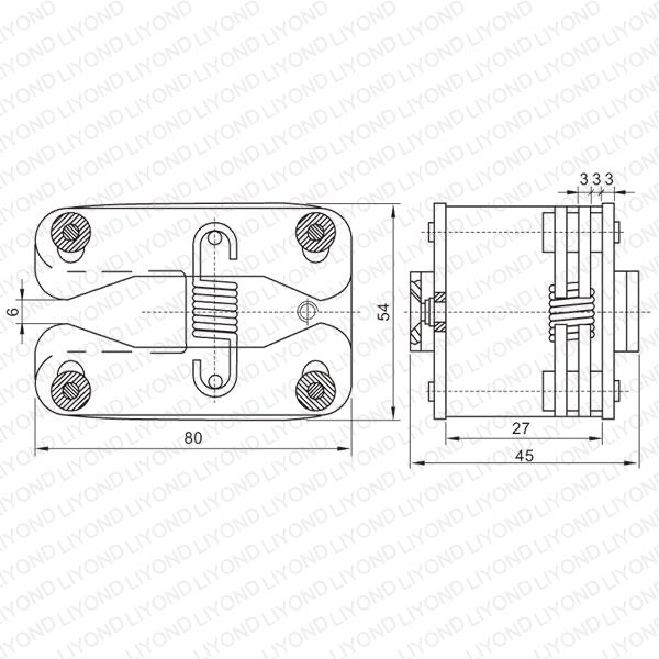 400A Расширение Весна плоским Контакты для автоматического выключателя LYA402