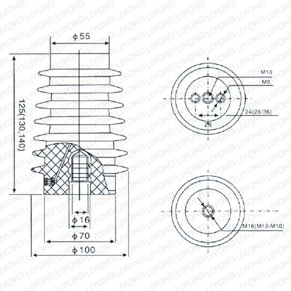 Электрический датчик с эпоксидной смолой для ABB распредустройство LYC121