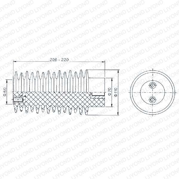 Эпоксидной изоляции Для выключателя LYC131 24KV