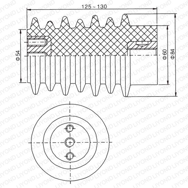 LYC108 12кВ Опорные изоляторы