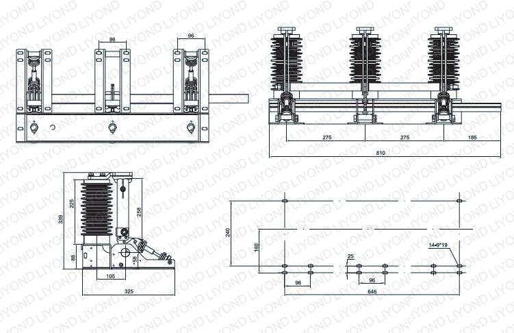 JN15-24/31.5 Крытый AC заземлитель высокого напряжения