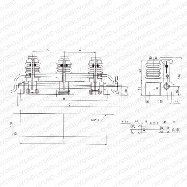 JN15C-12/31.5 заземлитель