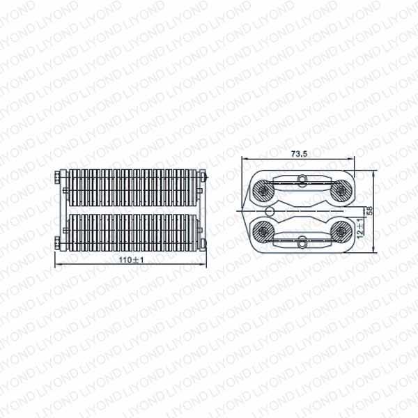 LYA506-GC7 1600A плоские контакты