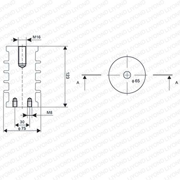 LYC101 12KV ЗРУ эпоксидная смола изолятор