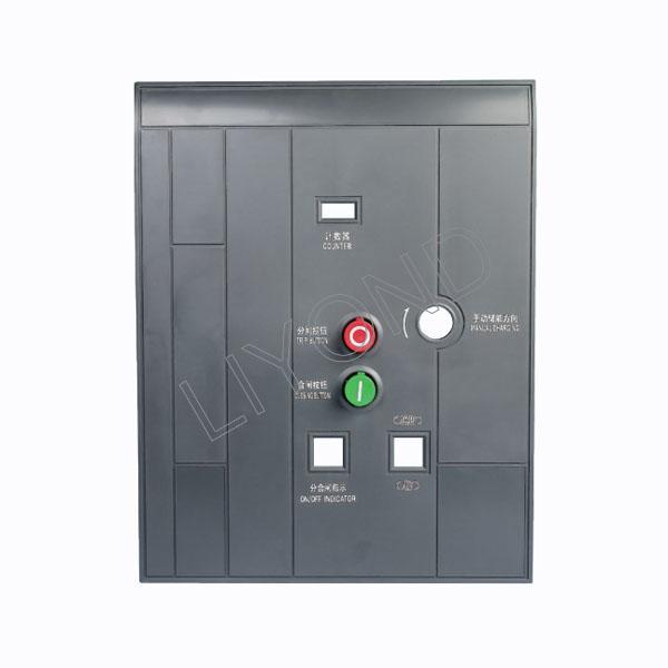 Medium and high voltage circuit breaker indicate panel