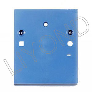 Permanent magnet plastic panel