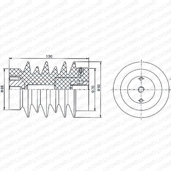 Сообщение преобразователя с эпоксидной смолой для высокого напряжения LYC119