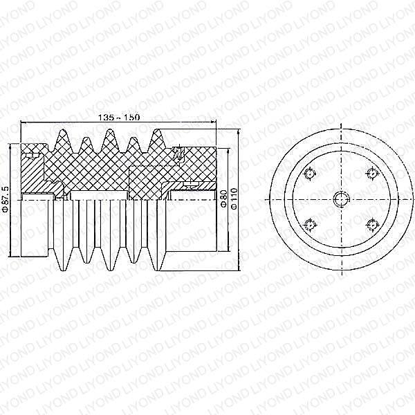 Датчик давления Для выключателя LYC124 12 kV