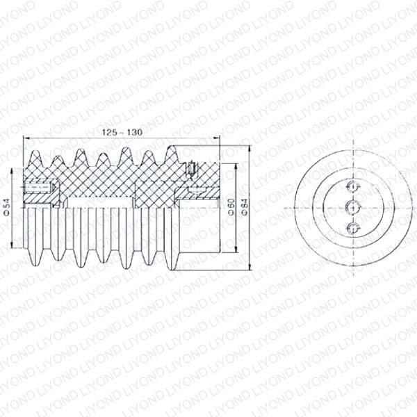 Преобразователь для высокого напряжения в Кастинг Путь LYC117 12 kV