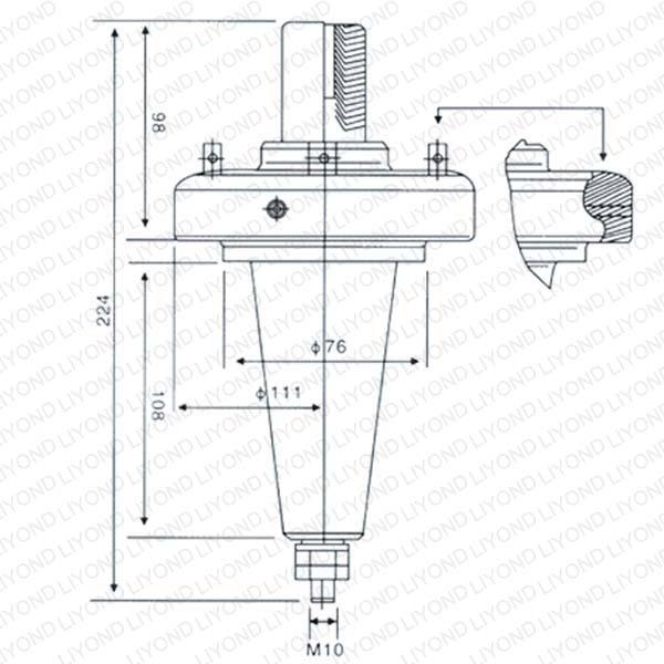 Трансформатор втулка DTGZ-24/224 Американский тип LYC168
