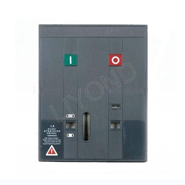 High voltage vacuum circuit breaker plastic panel