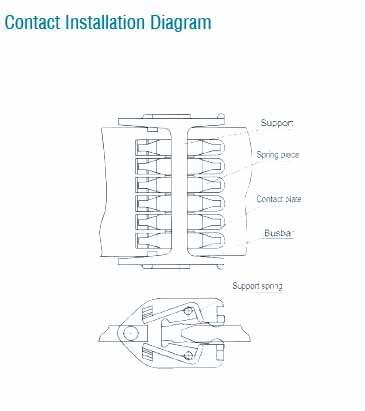 WCD- 510 Продольная поворотный контакт с 12 листов LYA510