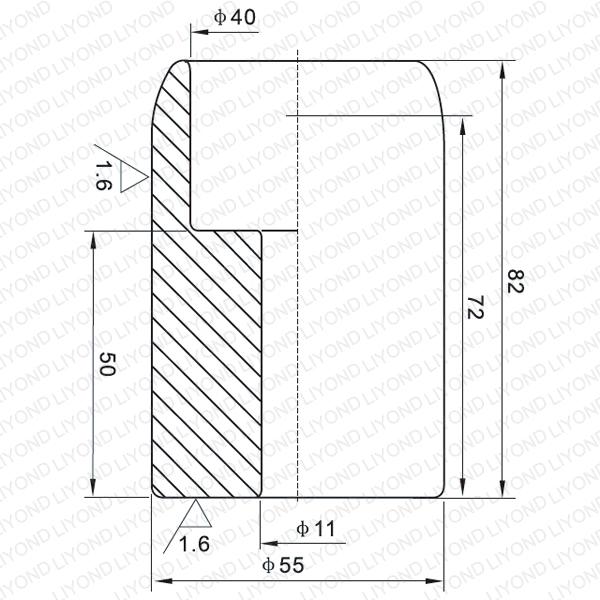1600A неподвижный контакт для вакуумного выключателя LYB104