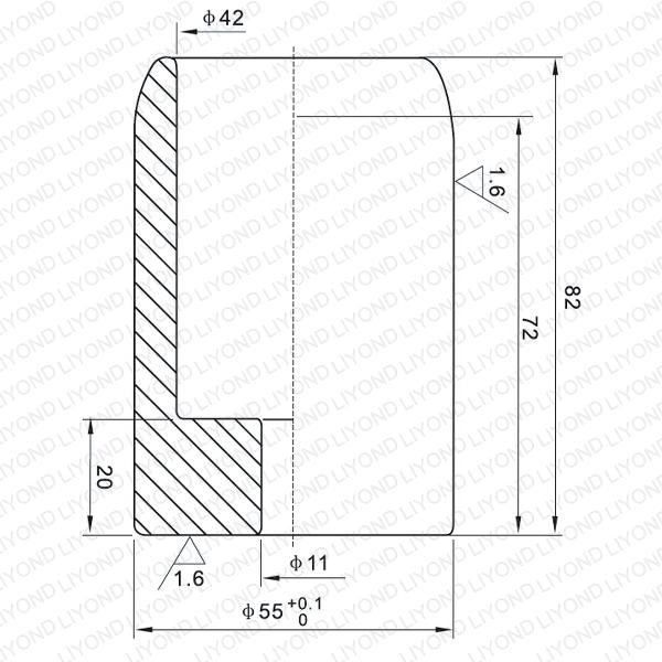 1600A мужской контакт для вакуумного выключателя LYB115