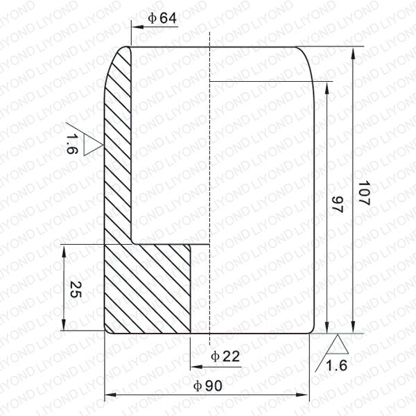 2000A мужской контакт для вакуумного выключателя LYB106