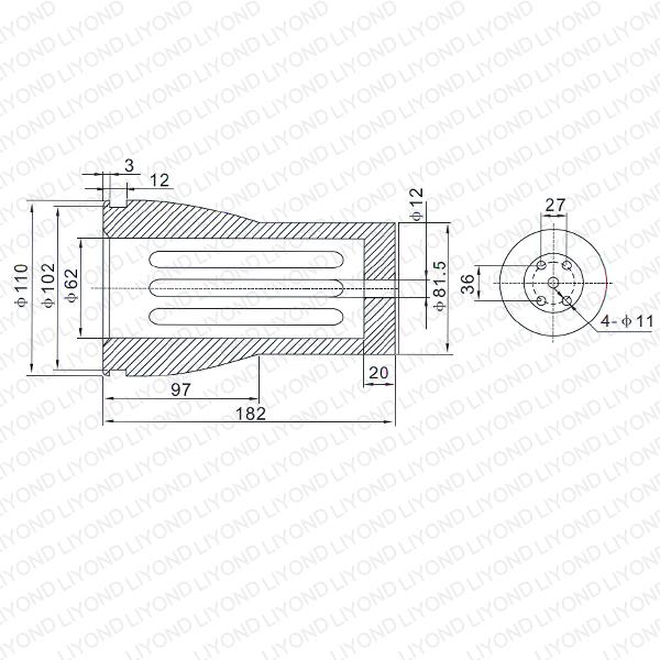 3150A VS1 контакт рука LYB259