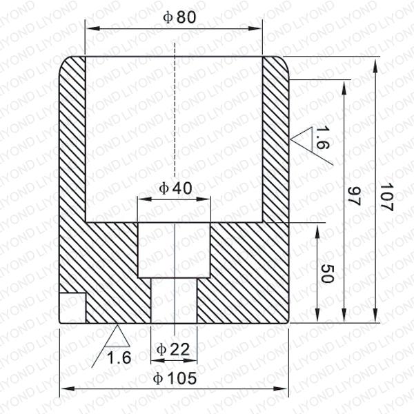 3150A неподвижный контакт для вакуумного выключателя LYB107