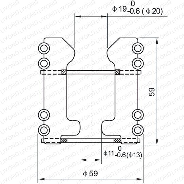 LYA102 GC5-400/630A тюльпан контакт