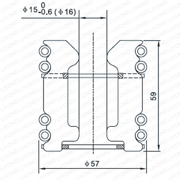 LYA101 GC5-400A тюльпан
