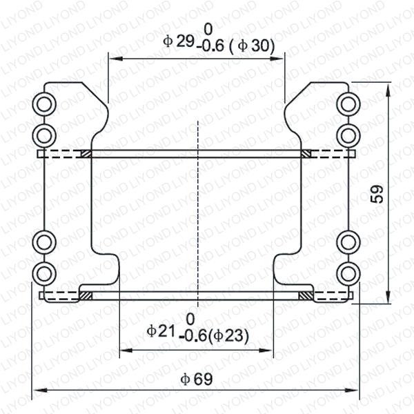 LYA120 GC5-630/800A колпаки изолирующие