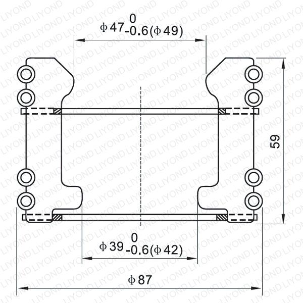 LYA105 GC5-630/1000A Тюльпан