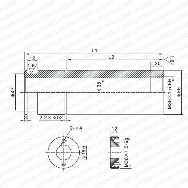 VD4 1600A контакт рука LYB222-LYB225