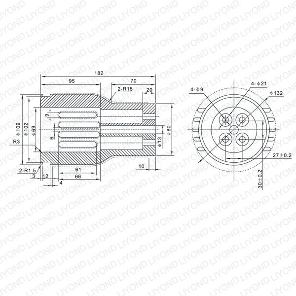 VS1 4000A контакт рука LYB260