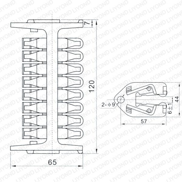 LYA511 WCD-1600 Тюльпан