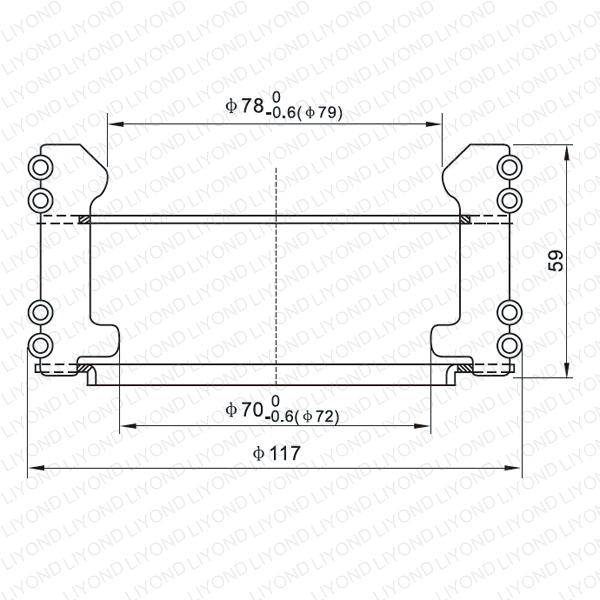LYA113 GC5-2000A Автоматический выключатель контакт