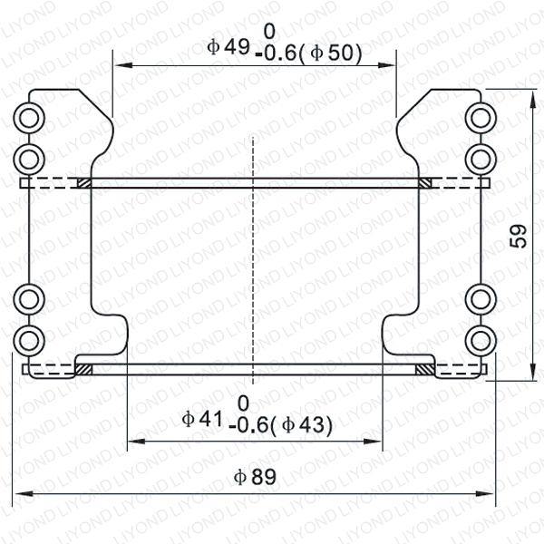 LYA123 GC5-1600A Автоматический выключатель контакт