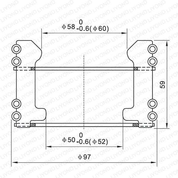 LYA110 GC5-1600A подвижный контакт