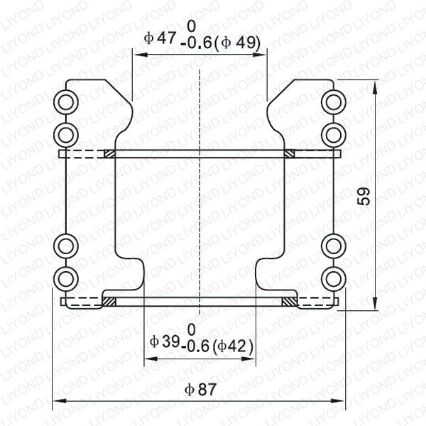 LYA127 GC5-630/1250A Подвижный контакт