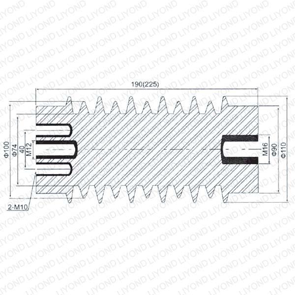электрическая изоляция с эпоксидной смолой для распределительных устройств LYC130