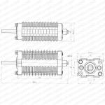 Китай Переключатель электрический роторного типа F10-24