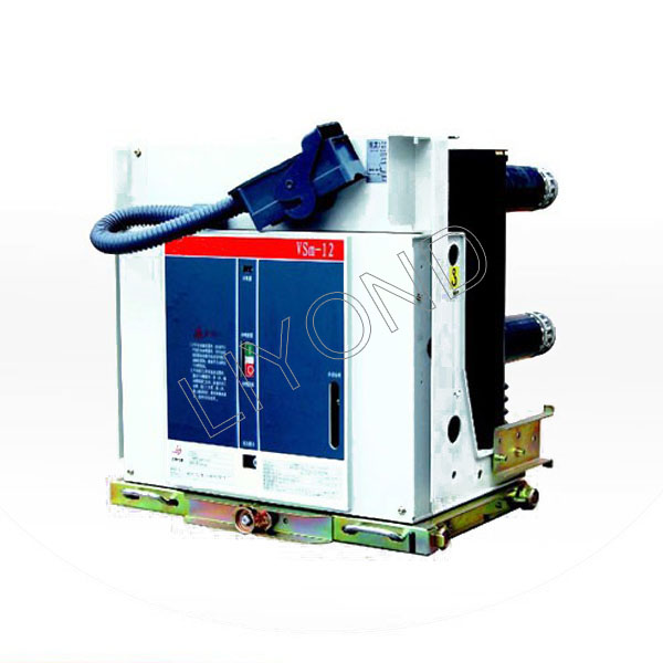 VSm-12 indoor high voltage vacuum circuit breaker for 12kV switchgear