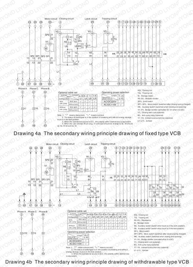 EP-12C indoor HV vacuum circuit breaker for 12kV switchgear