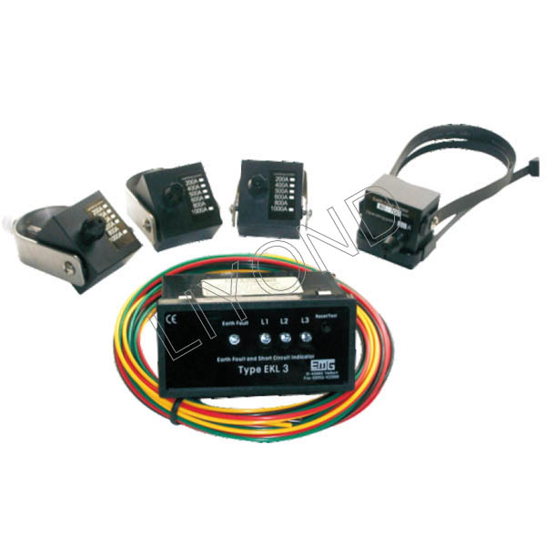 APJD-EKL3 Panel type short circuit grounding fault indicator