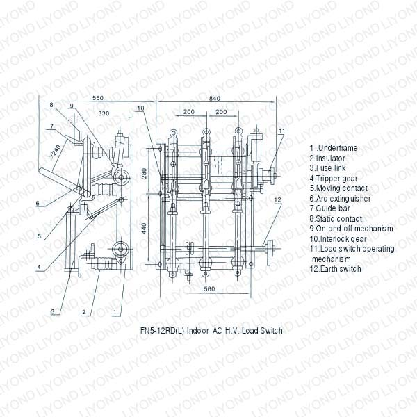 FN5-12kV-Series-Indoor-H.V.-Load-Breaking-Switch-4