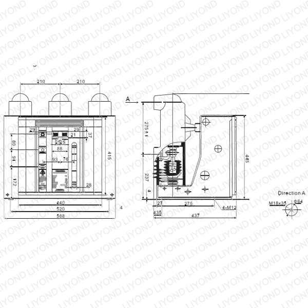 VSL-12-Indoor-High-Voltage-Vacuum-Circuit-Breaker-1