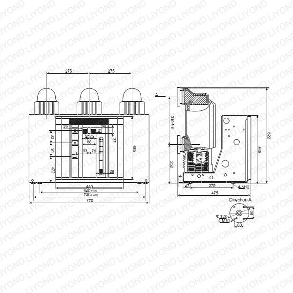 VSL-12-Indoor-High-Voltage-Vacuum-Circuit-Breaker-3