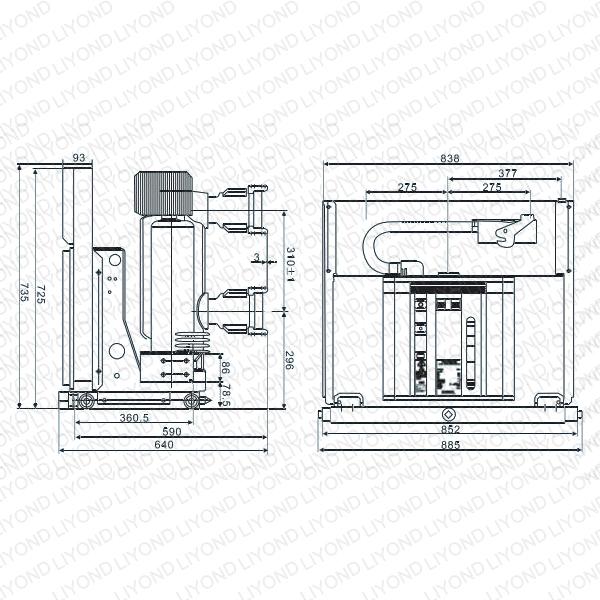 VSL-12-Indoor-High-Voltage-Vacuum-Circuit-Breaker-6
